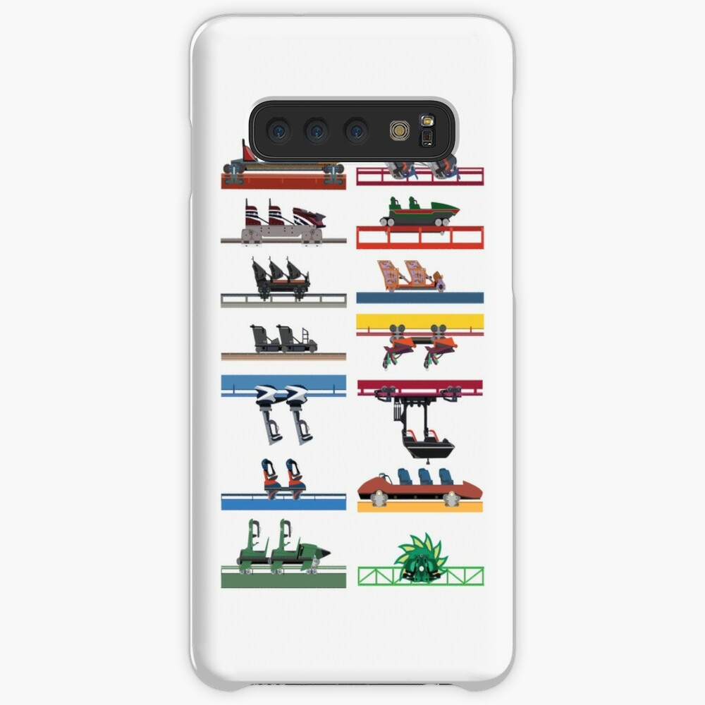 Six Flags Magic Mountain Coaster Cars Design Case & Skin for Samsung Galaxy