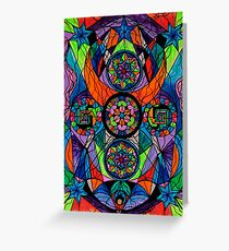 [Frequency Healing] Higher Purpose Greeting Card