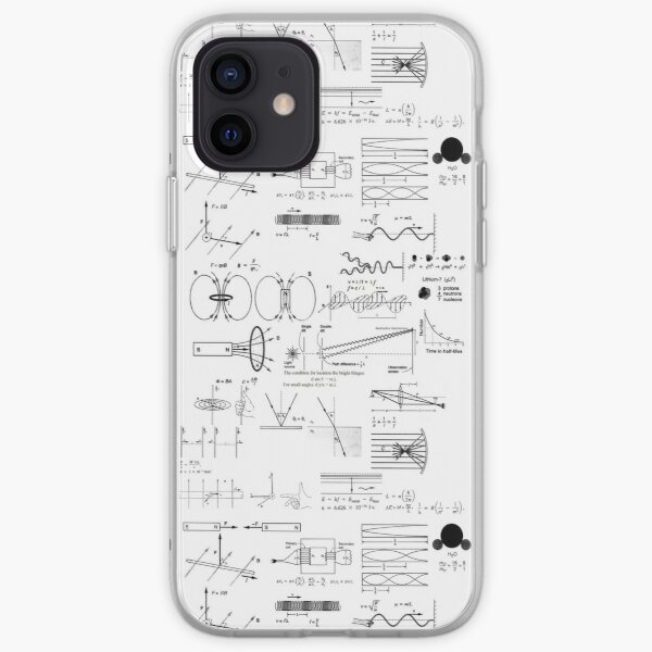 General Physics 2, #GeneralPhysics, #General, #Physics, #Electromagnetism, Thermodynamics, AtomicPhysics, NuclearPhysics iPhone Soft Case