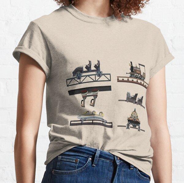 Phantasialand Coaster Cars Design Classic T-Shirt