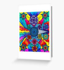 [Frequency Healing] Speak From The Heart Greeting Card