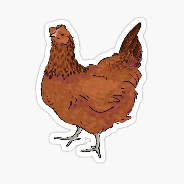 Easter Egger Chicken Sticker