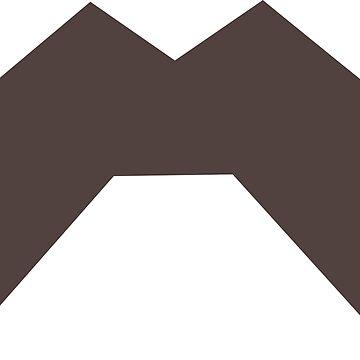 bob´s moustache by JamesCMarshall
