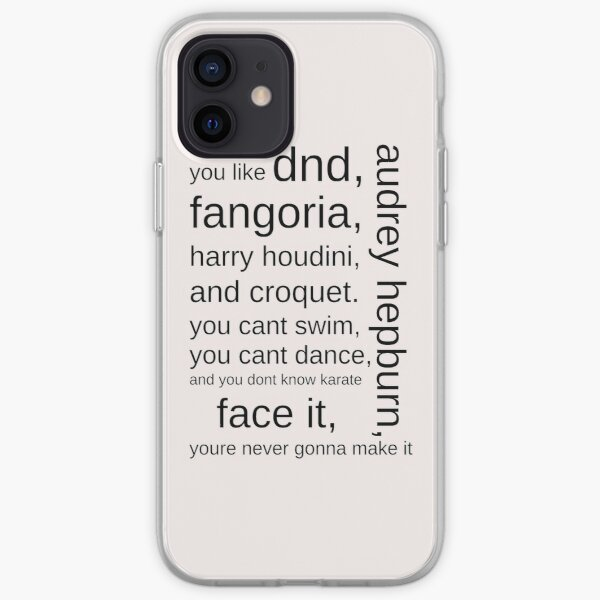 I'm Not Okay iPhone Soft Case