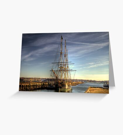 The Good Ship Friendship Greeting Card