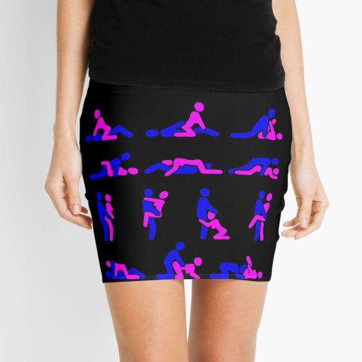 Kamasutra fun Stickman Minifalda