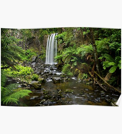 A World Away - Hopetoun Falls Poster