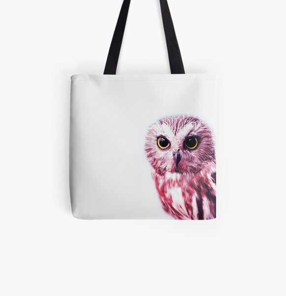 Cute owl All Over Print Tote Bag