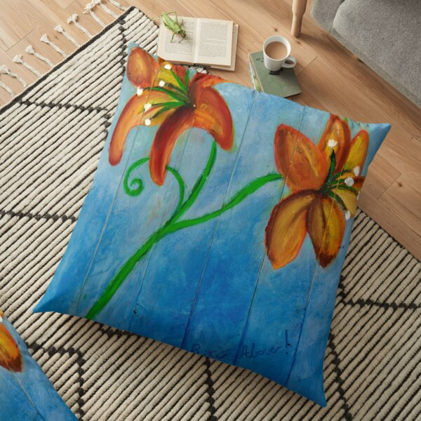 Rise Above Floor Pillow