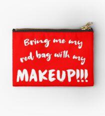 Bring mir meine rote Tasche mit meinem Make-up !!! / Anfisa / 90 Tage Verlobter Studio Clutch