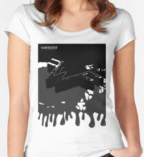 Weezer Black 2 Women's Fitted Scoop T-Shirt