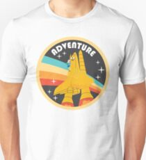 ADVENTURE (through space and) TIME  Slim Fit T-Shirt