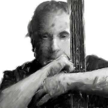 Paul Simon portrait by kartickdutta101