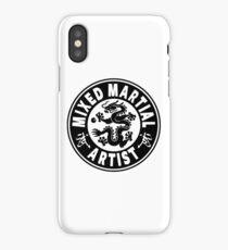 Mixed Martial Artist iPhone Case/Skin