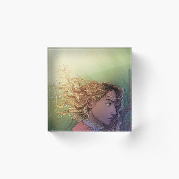Overgrown - Bea Acrylic Block