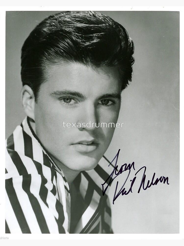 Ricky Nelson Autograph by texasdrummer