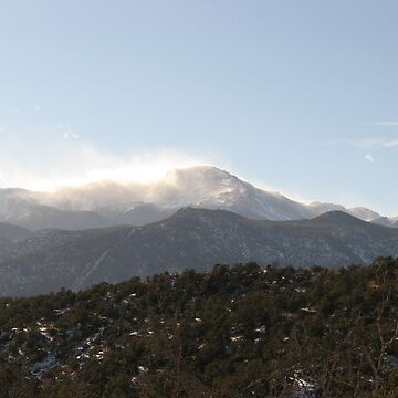 Pike's Peak, Colorado March 2007 by T-ShirtsGifts