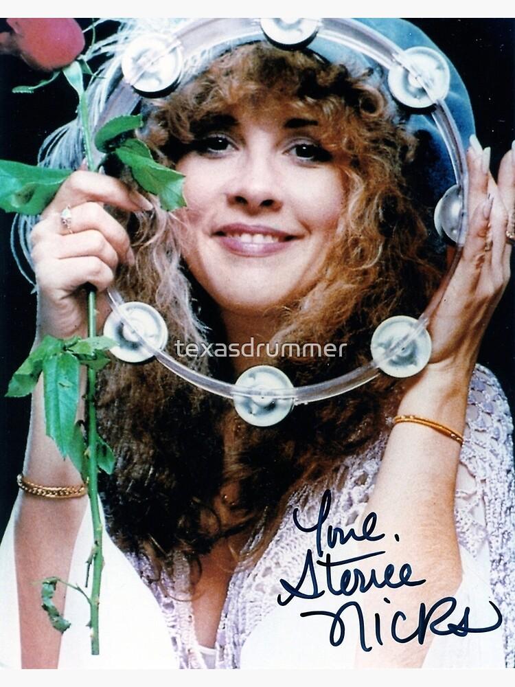 Stevie Nicks Autograph by texasdrummer