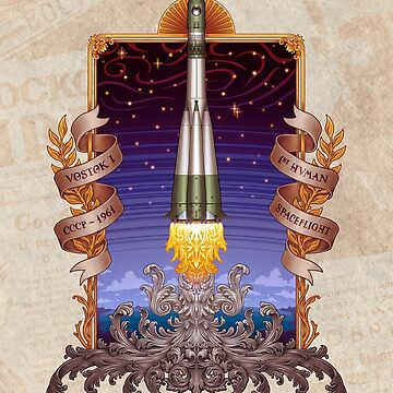 Vostok 1 - Erste bemannte Weltraumfahrt von carlostato
