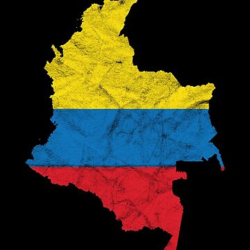 'Colombia' Cool Flag Colombia  by leyogi