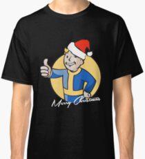 Vault Boy Merry Christmas Classic T-Shirt
