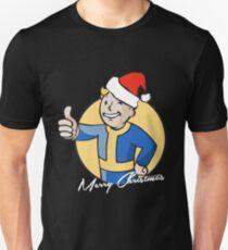 Vault Boy Merry Christmas Unisex T-Shirt