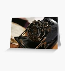 Folding Camera Greeting Card