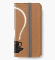 The Power of Coffee iPhone Wallet/Case/Skin