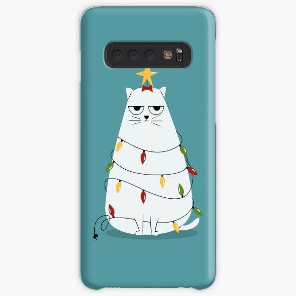 Grumpy Christmas Cat Samsung Galaxy Snap Case
