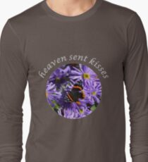 Butterflies are heaven sent kisses Long Sleeve T-Shirt