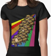 Grug's Rainbow Womens Fitted T-Shirt