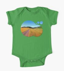 Country road with scenery | landscape photography Kids Clothes