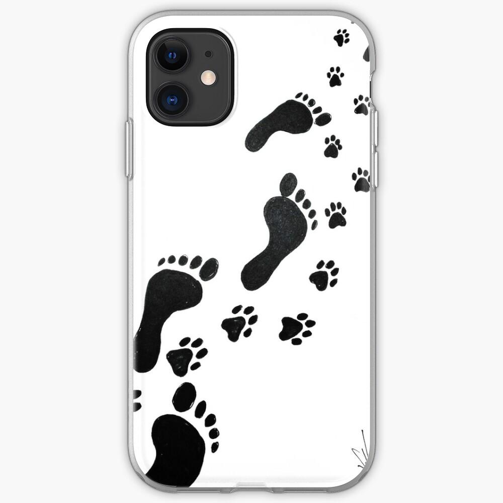 Hiking buddy (tattoo design) iPhone Case & Cover