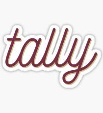 Tally - FSU  Sticker