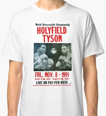 Holyfield vs. Tyson Camiseta clásica