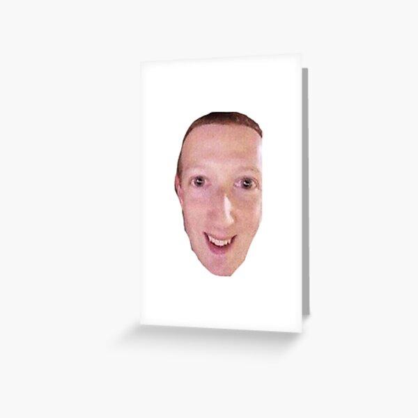 Cursed Zucc Greeting Card