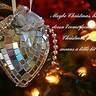 Weihnachtsgedanken von Barbara  Brown