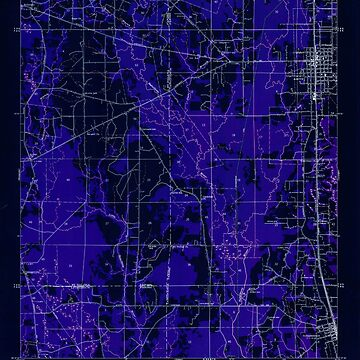 USGS TOPO Map Louisiana LA Amite 333616 1949 31680 Inverted by wetdryvac