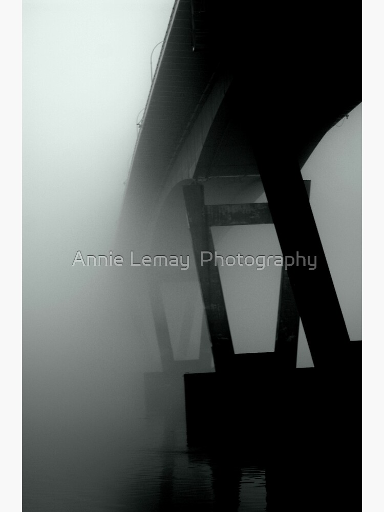 Mission Bridge in the Fog by ajlphotography