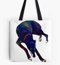 Greyhound Art Watercolour Style Tote Bag