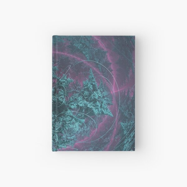 The Shape of Sound - Fractal Art Hardcover Journal
