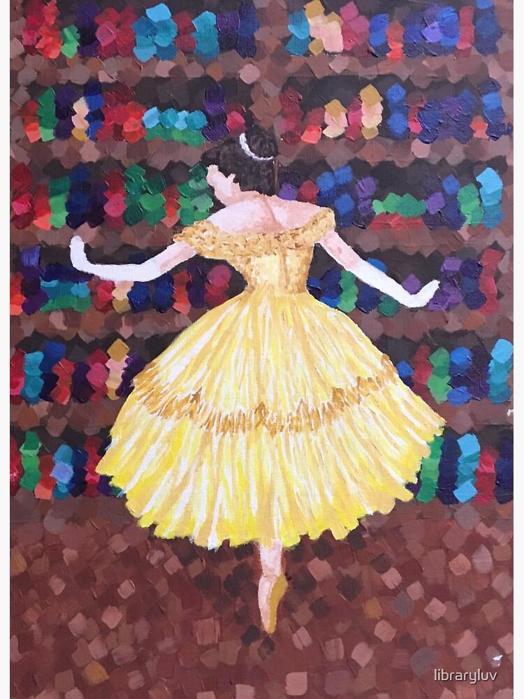 Bailarina de la gran biblioteca de libraryluv