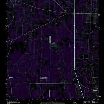 USGS TOPO Map Louisiana LA Amite 20120328 TM Inverted by wetdryvac