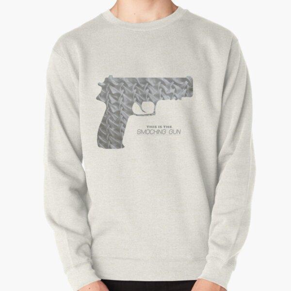 This is the SMOCKING GUN Pullover Sweatshirt