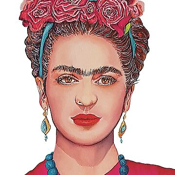 Frida Kahlo in Bloom by ArtbyCPolidano