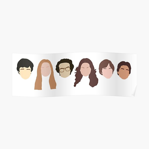That 70s Show (faceless) Cast Poster