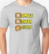 SIngle taken pizza checkboxes ticks T-Shirt