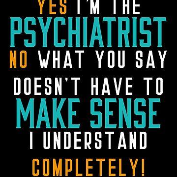 Hospital Psychiatrist by BlueRockDesigns