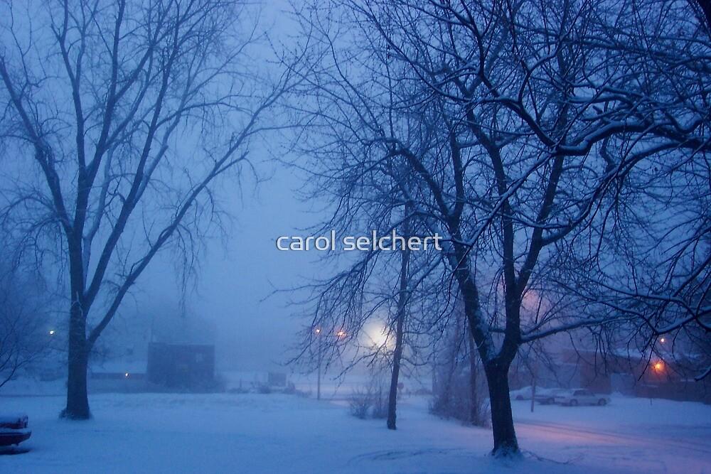 Visit From a Blue Goddess by carol selchert
