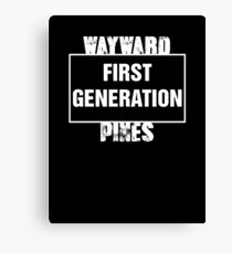 Wayward Pines - First Generation Canvas Print
